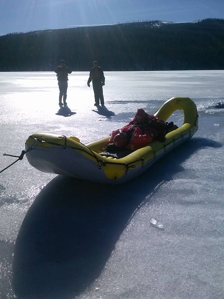 New Ice Rescue Boat