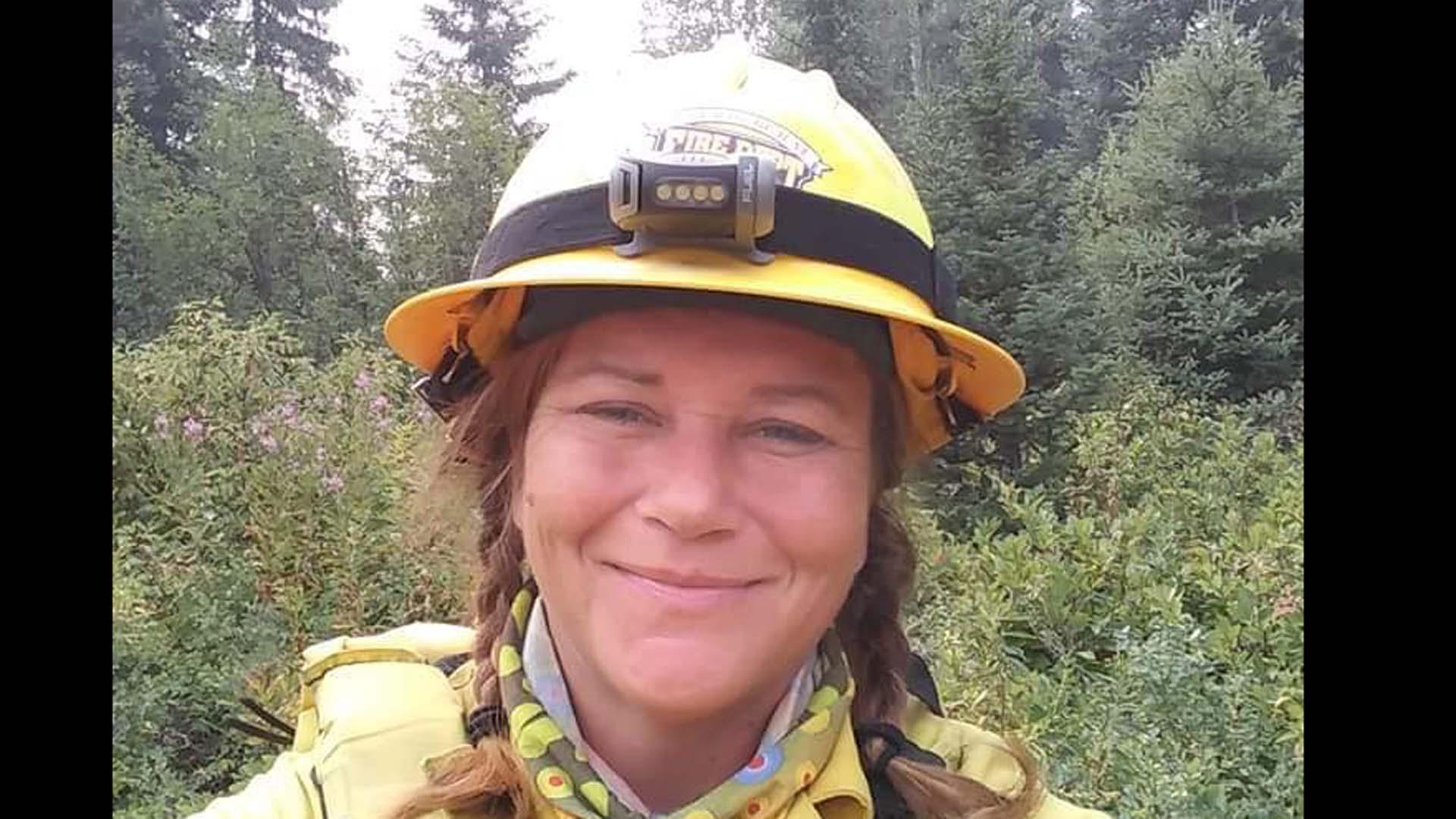 Photo of Firefighter Tiffany Hamdan